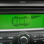 Parkovaci senzor-displej