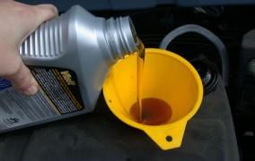 Správna výmena motorového oleja