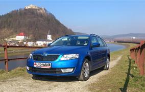 Test Škoda Octavia III Combi 1,6 TDi (77 kW)