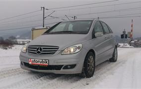 Test Mercedes-Benz B180 CDI (80 kW)