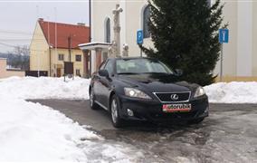 Test Lexus IS 220d (130 kW)