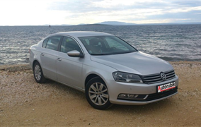 Test Volkswagen Passat 1,6 TDi (77 kW) Bluemotion