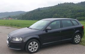 Test Audi A3 Sportback 1,9 TDi (77 kW)